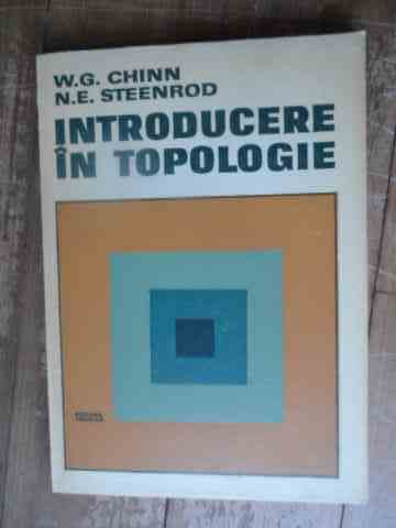 introducere in tipologie                                                                             w. g. chinn   n.e. steenrod