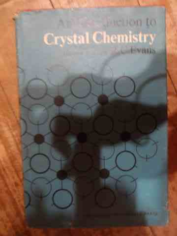AN INTRODUCTION TO CRYSTAL CHEMISTRY                                                      ...
