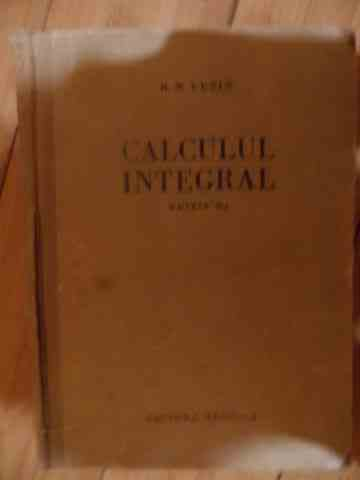 CALCUL INTEGRAL                                                                           ...