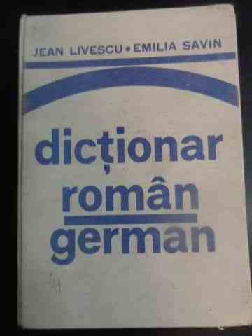 Dictionar roman-german                                                                    ...