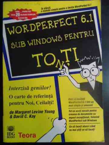 WORDPERFECT 6.1 SUB WINDOWS PENTRU TOTI                                                   ...