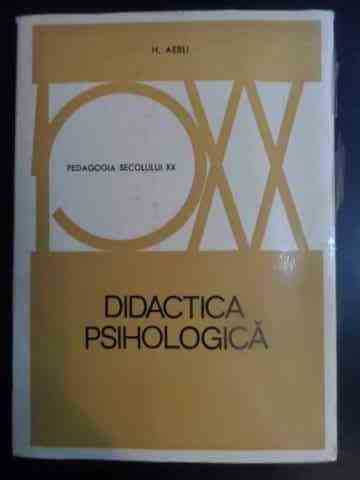 Didactica psihologica                                                                     ...