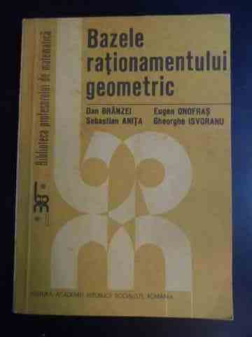 BAZELE RATIONAMENTULUI GEOMETRIC                                                          ...