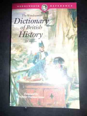 dictionary of british history                                                                        j. p. kenyon