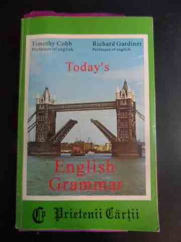 today's english grammar                                                                              timothy cobb richard gardiner