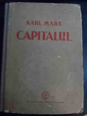 capitalul vol i                                                                                      karl marx