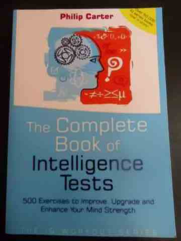 the complete book of intelligence tests                                                              philip carter