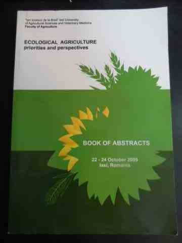 Ecological agriculture priorities and perspectives - book of abstracts                    ...