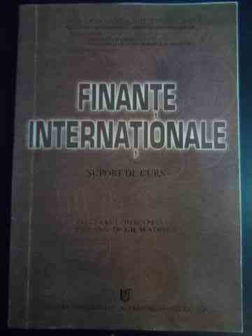 Finante internationale - suport de curs                                                   ...