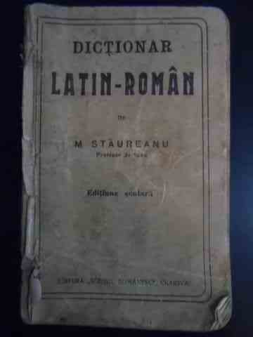 Dictionar latin-roman                                                                     ...