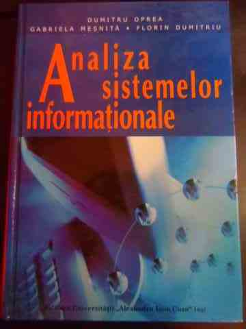 ANALIZA SISTEMELOR INFORMATIONALE                                                         ...