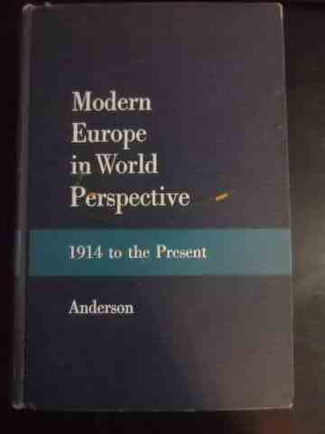 Modern Europe in World Perspective 1914 to the Present                                    ...