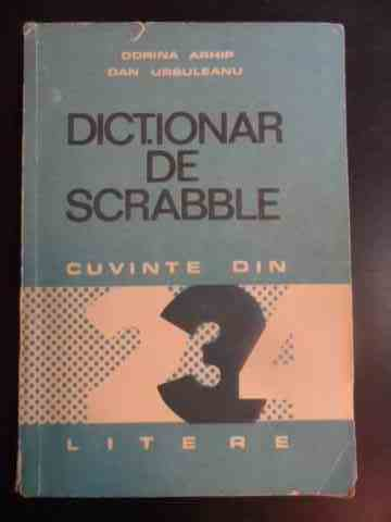 DICTIONAR DE SCRABBLE                                                                     ...