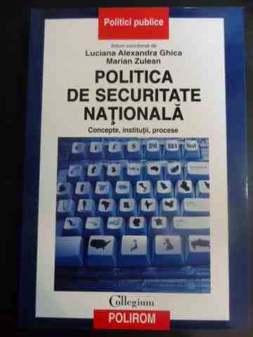 POLITICA DE SECURITATE NATIONALA                                                          ...
