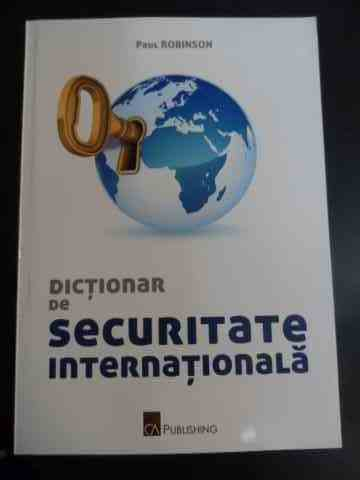 DICTIONAR DE SECURITATE INTERNATIONALA                                                    ...