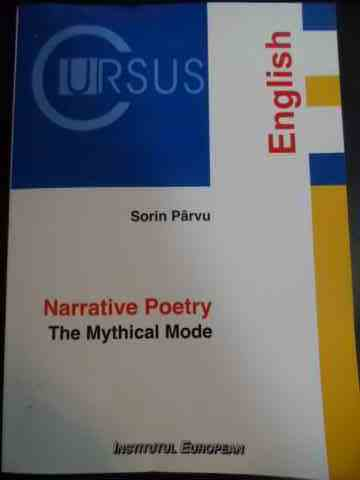 NARRATIVE POETRY THE MYTHICAL MODE                                                        ...