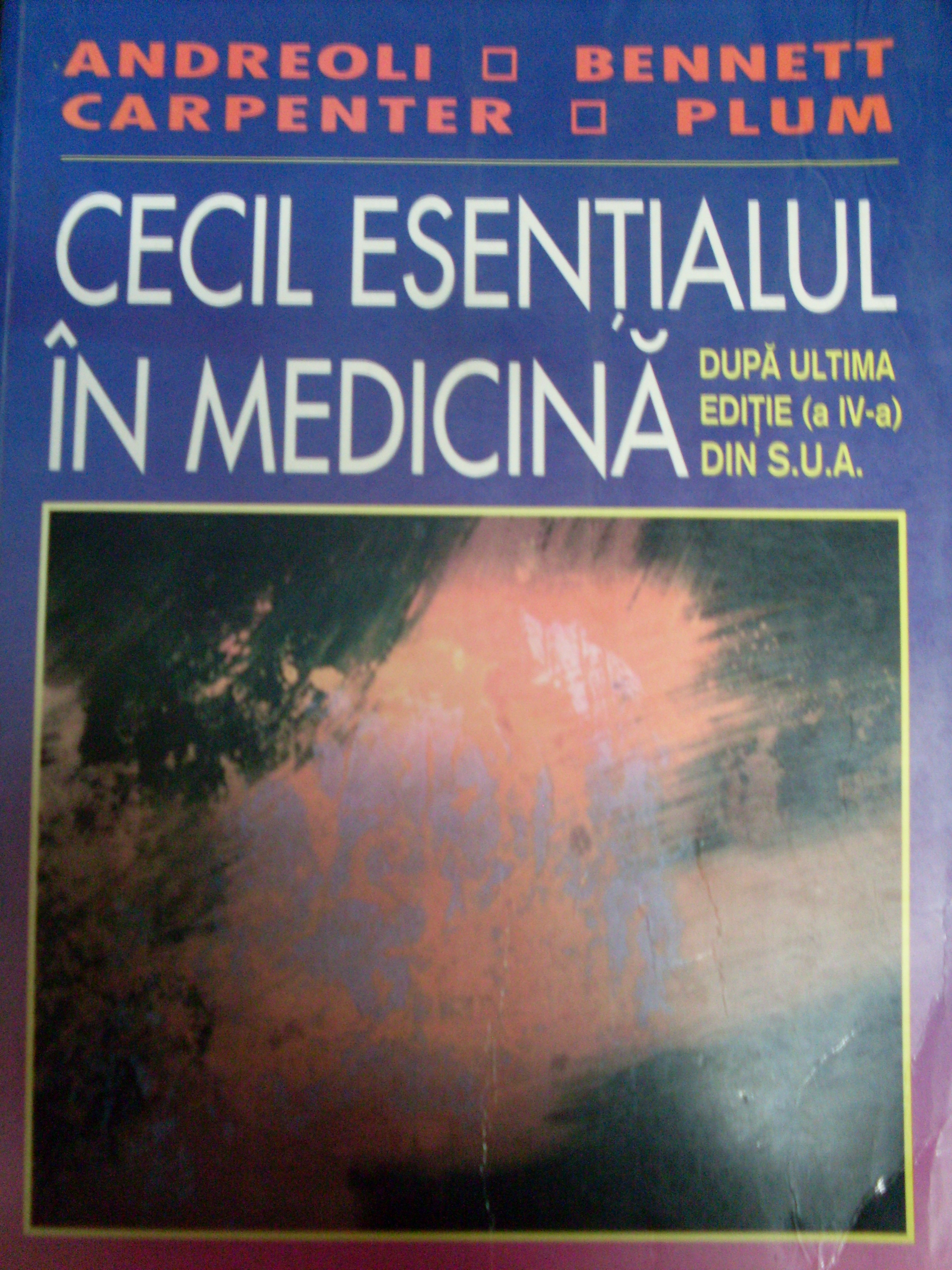 cecil esentialul in medicina                                                                         a. carpenter b. plum