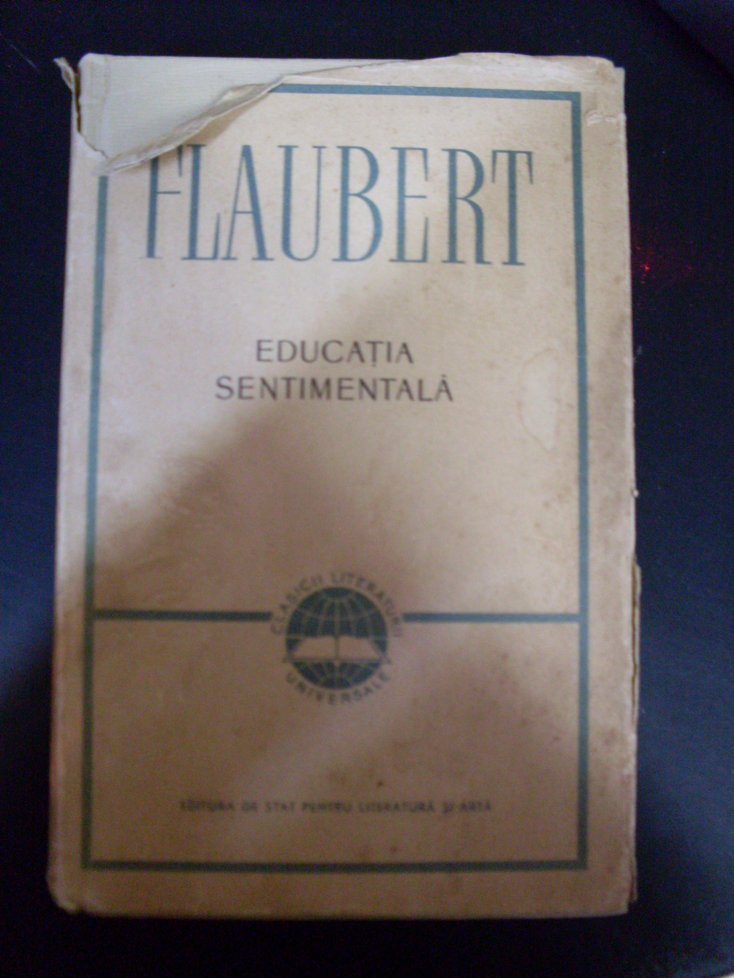 educatia sentimentala                                                                                flaubert
