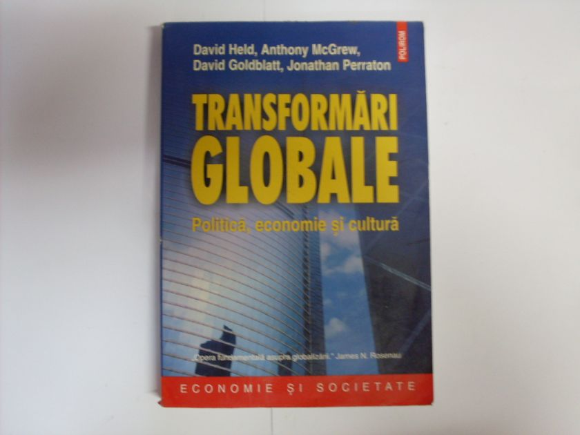 transformari globale                                                                                 d. held a. mcgrew d. goldblatt j. perraton