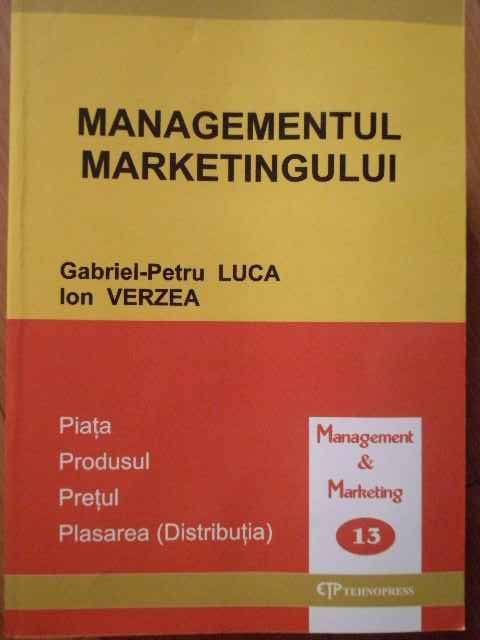 MANAGEMENTUL MARKETINGULUI                                                                ...